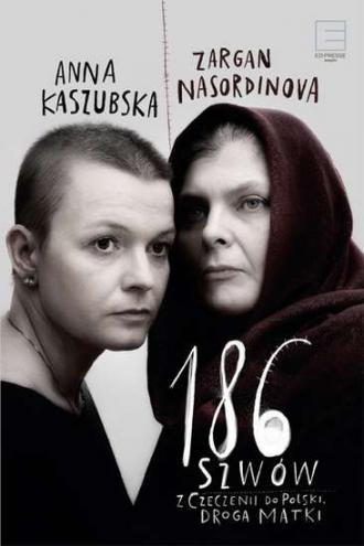 186 szwów. Z Czeczenii do Polski. - okładka książki