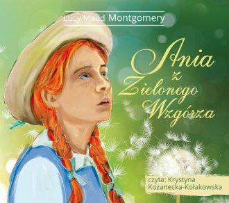 Ania z Zielonego Wzgórza - pudełko audiobooku