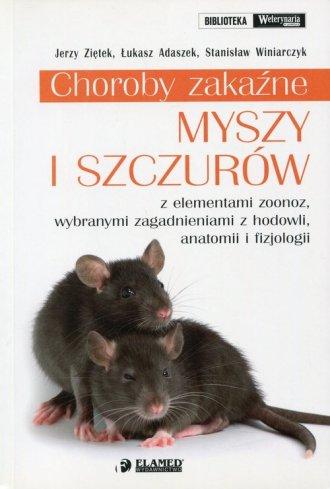 Choroby zakaźne myszy i szczurów - okładka książki