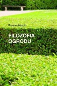 Filozofia ogrodu - okładka książki