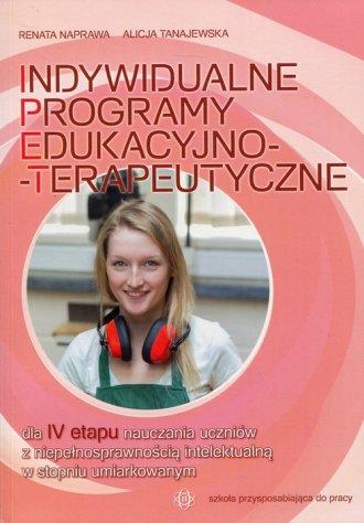 Indywidualne programy edukacyjno-terapeutyczne - okładka książki