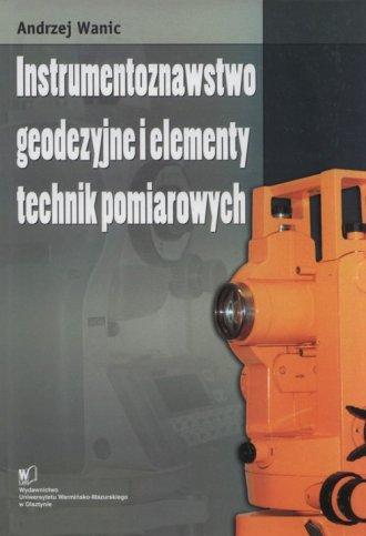 Instrumentoznawstwo geodezyjne - okładka książki