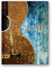 Kalendarz 2016. Soft Gitara (B6) - okładka książki