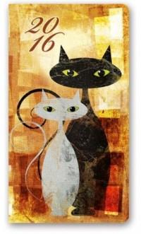 Kalendarz 2016. Soft Koty (A6) - okładka książki