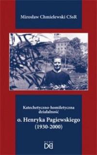 Katechetyczno-homiletyczna działalność - okładka książki