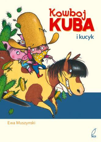 Kowboj Kuba i kucyk - okładka książki