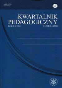 Kwartalnik Pedagogiczny nr 4 (238)/2015 - okładka książki