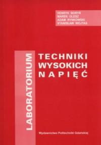 Laboratorium techniki wysokich napięć - okładka książki