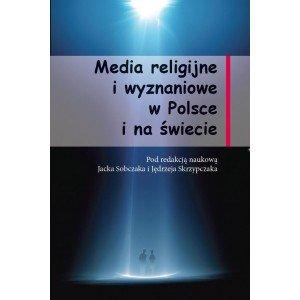 Media religijne i wyznaniowe  w - okładka książki