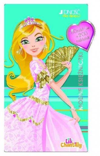 Modne księżniczki - okładka książki