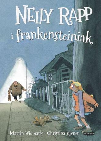 Nelly Rapp i frankensteiniak - okładka książki