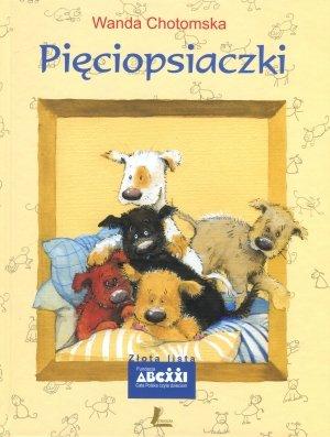 Pięciopsiaczki - okładka książki