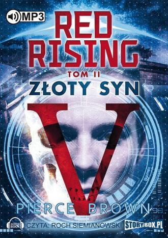 Red Rising. Tom 2. Złoty syn - pudełko audiobooku