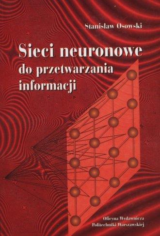 Sieci neuronowe do przetwarzania - okładka książki