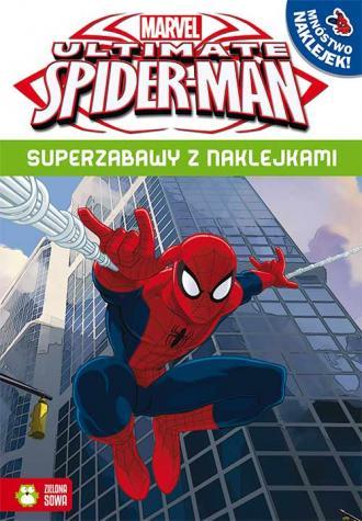 Superzabawy z naklejkami. Spider-Man - okładka książki