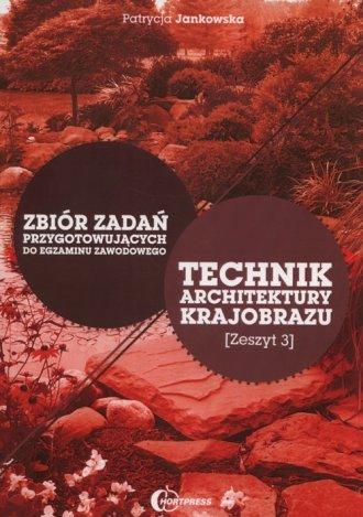 Technik architektury krajobrazu. - okładka podręcznika