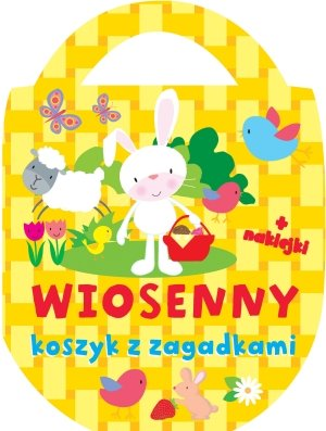 Wiosenny koszyk z zagadkami (+ - okładka książki