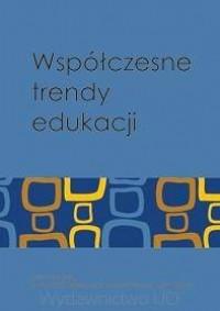 Współczesne trendy edukacji - okładka książki
