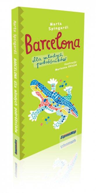 Barcelona dla młodych podróżników - okładka książki