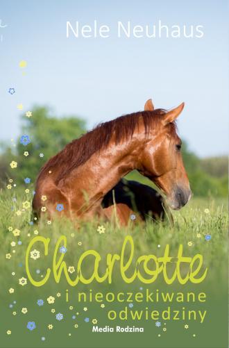 Charlotte i nieoczekiwane odwiedziny - okładka książki