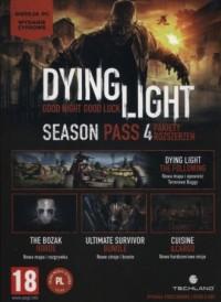 Dying Light. Season Pass. 4 pakiety - pudełko programu