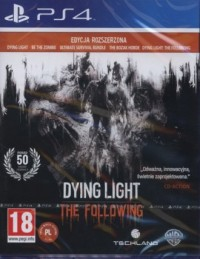 Dying Light .The Following. Edycja rozszerzona (PS4) - pudełko programu