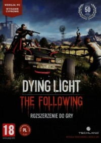 Dying Light. The Following (rozszerzenie) - pudełko programu