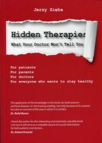 Hidden Therapies. Ukryte terapie - okładka książki