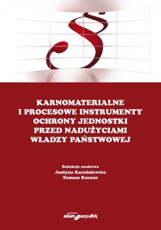 Karnomaterialne i procesowe instrumenty - okładka książki