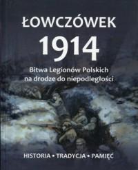 Łowczówek 1914 - okładka książki
