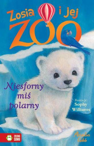 Niesforny miś polarny - okładka książki