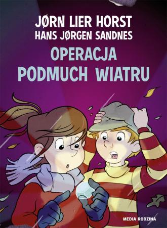 Operacja Podmuch Wiatru - okładka książki