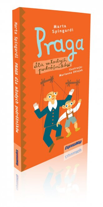 Praga dla młodych podróżników - okładka książki