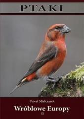 Ptaki wróblowe Europy cz. 2 - okładka książki