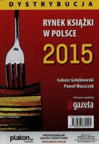 Rynek książki w Polsce 2015. Dystrybucja - okładka książki