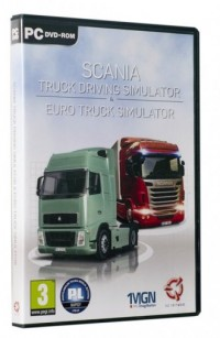 Scania   Euro Truck Simulator (PC) - pudełko programu