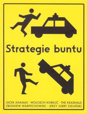 Strategie buntu - okładka książki