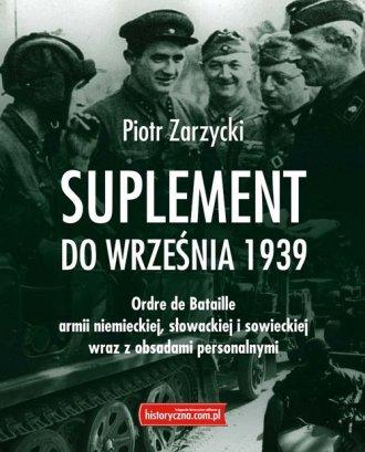 Suplement do września 1939 - okładka książki