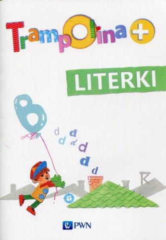 Trampolina+. Literki - okładka podręcznika