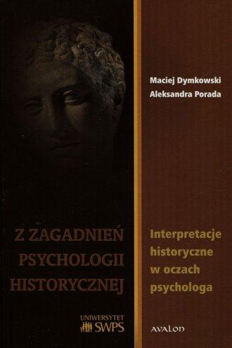Z zagadnień psychologii historycznej. - okładka książki