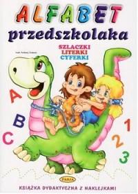 Alfabet przedszkolaka - okładka książki