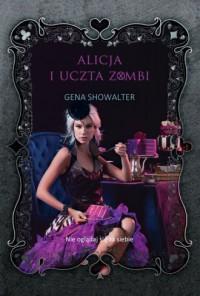 Alicja i uczta zombi - okładka książki