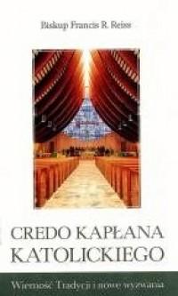 Credo kapłana katolickiego - okładka książki