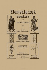 Elementarzyk obrazkowy dla polskich dzieci - zdjęcie reprintu, mapy