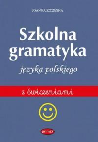 Gramatyka szkolna języka polskiego - okładka podręcznika