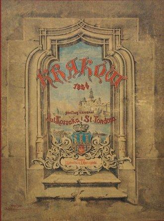 Klejnoty miasta Krakowa - zdjęcie reprintu, mapy