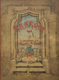 Klejnoty miasta Krakowa - Wydawnictwo - zdjęcie reprintu, mapy