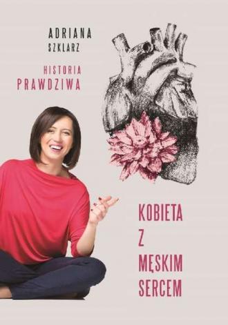 Kobieta z męskim sercem - okładka książki