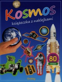 Kosmos. Książeczka z naklejkami - okładka książki