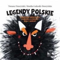 Legendy polskie. Diabelska kręgielnia, Legenda o strzale, Rów i skrzat - okładka książki